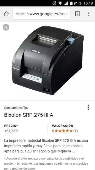 impresora matricial BIXOLON