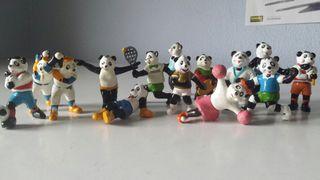 Figuras juguete de Pandas El Pozo