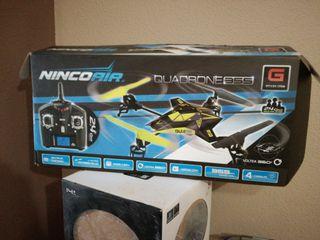 helicoptero NINCOAIR QUADRONE 355 teledirigido