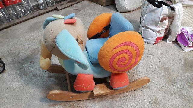 elefante niño mecedora