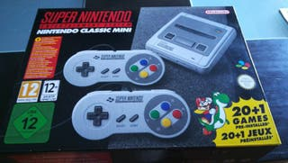 Super Nintendo Mini Nueva