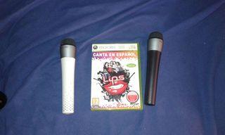 Lips xbox 360 con microfonos.