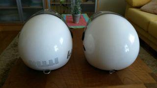 2 Cascos moto de verano NZI Helix