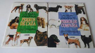 Álbum de cromos Perros