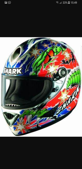 Visera casco moto (Shark Troy Corser)