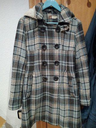 Abrigo azul Greencoast talla 40