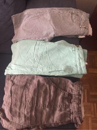 Lote de pantalones cortos niño
