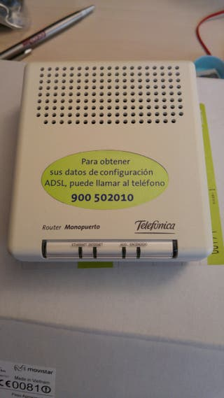 router monopuerto Telefónica