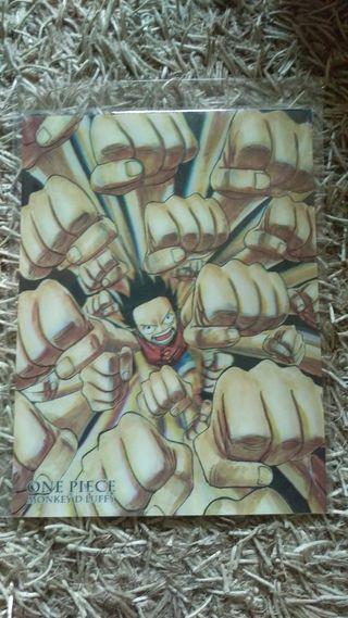"Poster manga 3D ""one piece"""