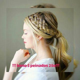 bono 3 peinados