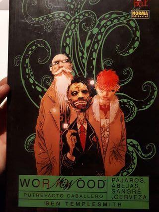Wormwood putrefacto caballero - cómic
