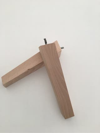 Patas de madera para mueble