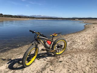 "Bicicleta fat bike 26"""