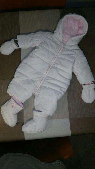 Mono invierno bebé Prenatal 1 - 3 meses
