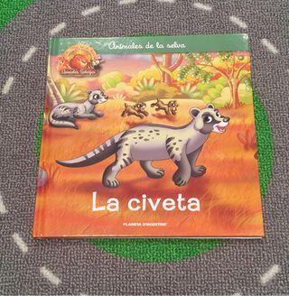 """LIBRO INFANTIL NUEVO """"LA CIVETA"""""""