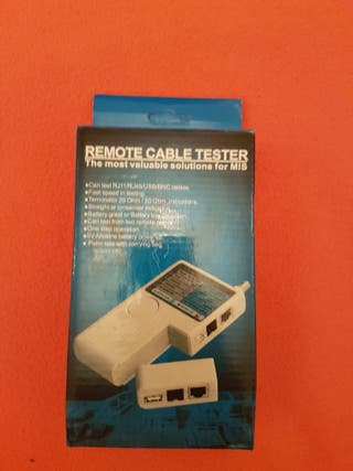 Remote cable tester