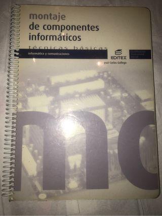 Libro informática y comunicaciones: montaje de componentes informáticos