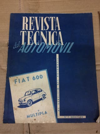 Revista tecnica fiat 600
