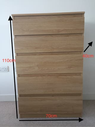 Drawers chest. Cajonera