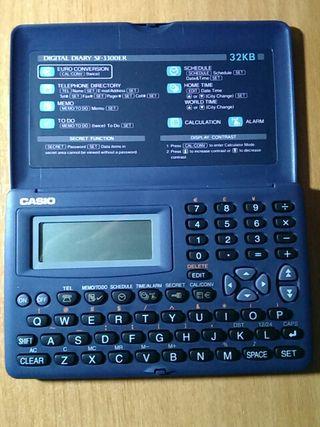 AGENDA ELECTRÓNICA CASIO SF-3300R 32KB (NUEVA)