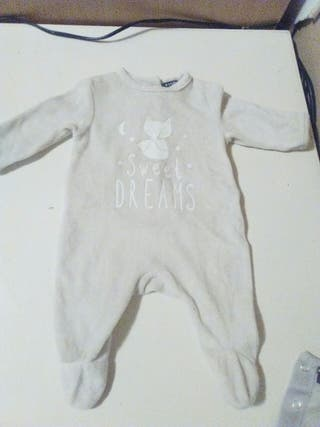 pijama bebe invierno 1mes