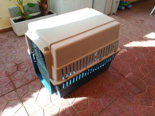 Caja de transporte para perros