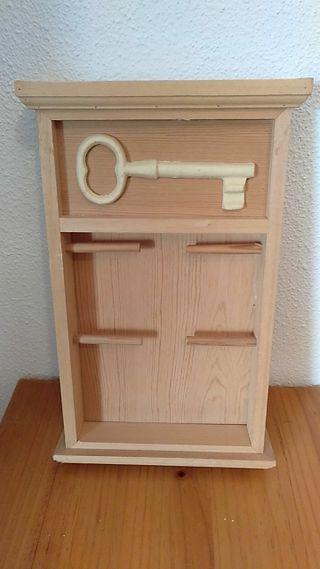 mueble para colgar llaves