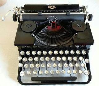 Máquina de escribir Royal, antigüedades