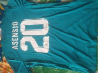 camiseta del Real Madrid.