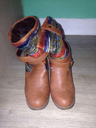 Hippie boots booties