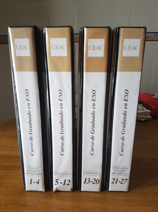 Libros de Gaduado en E.S.O