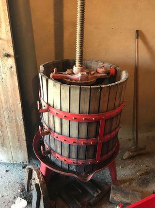 prensa molino vino