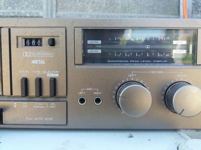 radio cassette Sharp