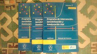 Libros Sensibilización Reeducación Vial.