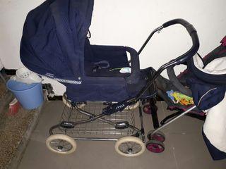 vendo carro de bebé casi nuevo