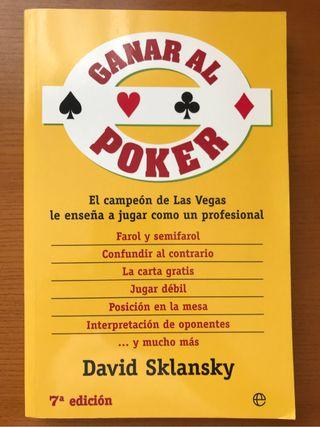 Ganar al poker