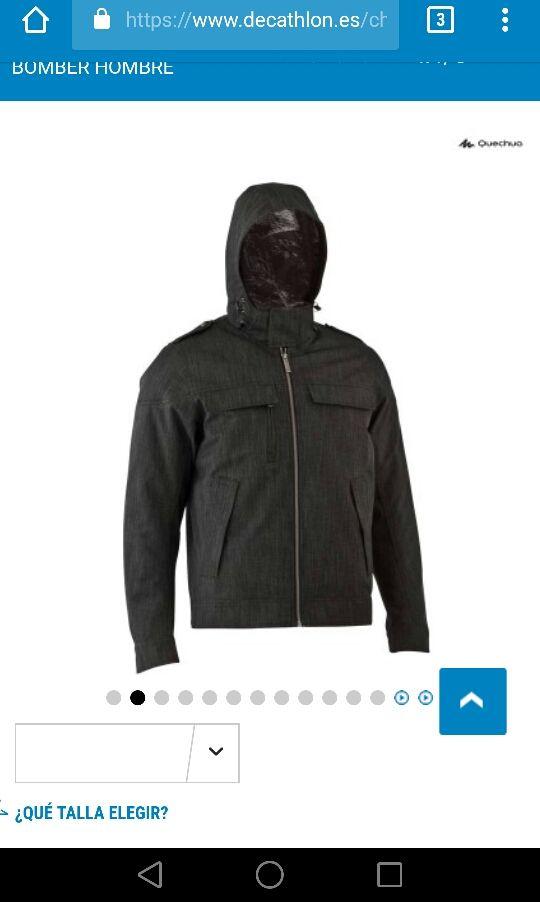 seleccione para oficial en venta en línea bien conocido Chaqueta Decathlon hombre 3xl. Nueva vale 69,99€ de segunda ...