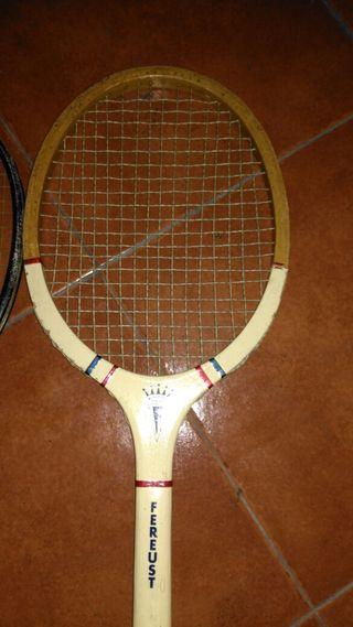raquetas vintage