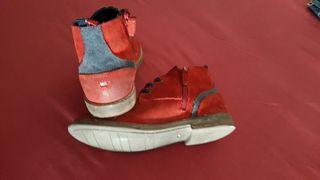 botas de niño tommy hilfiger n.33 de piel