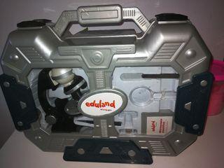 juguete didáctico Microscopio