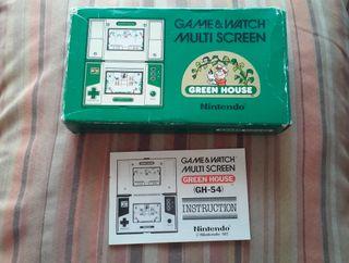 Greenhouse Nintendo Game & Watch