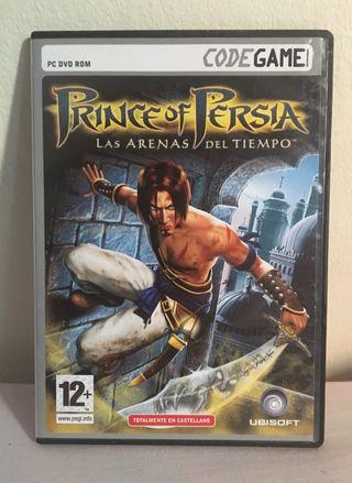 Prince of Persia Arenas del Tiempo PC