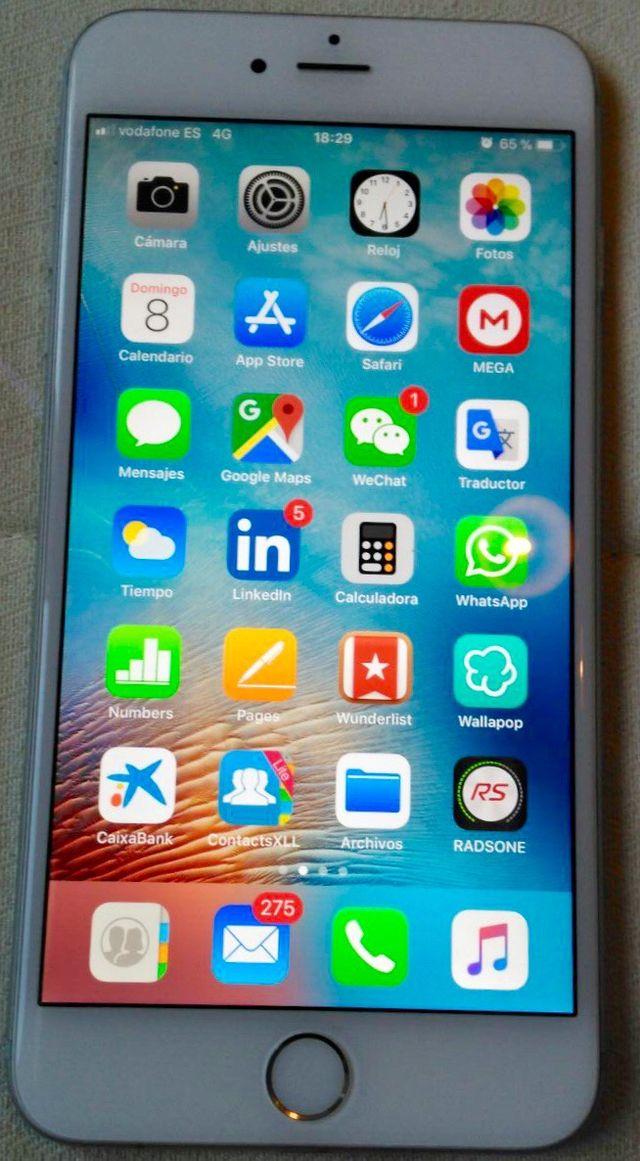 Iphone 6 plus blanco 16gb