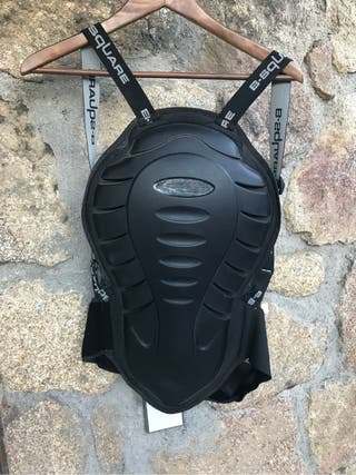 Protección espalda moto tortuga