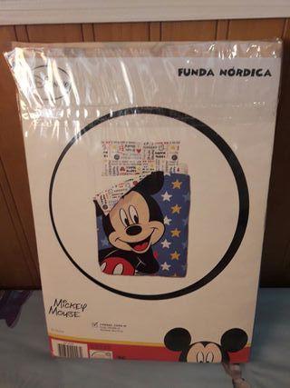 Funda nórdica Mickey
