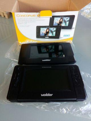 pantalla doble dvd usb para coche