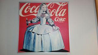 Cuadro decoración Coca Cola