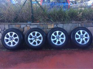 Llantas q5 con ruedas invierno