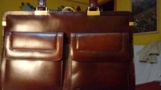 maletin portadocumentos de piel