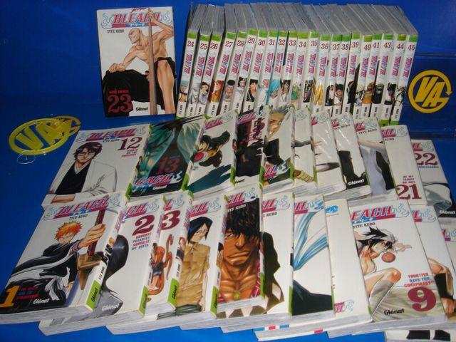 comics manga BLEACH 45 números buen estado